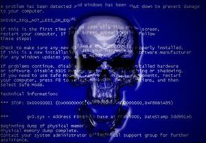 Синий экран (BsoD)
